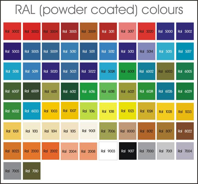 Tractol Paint Colours