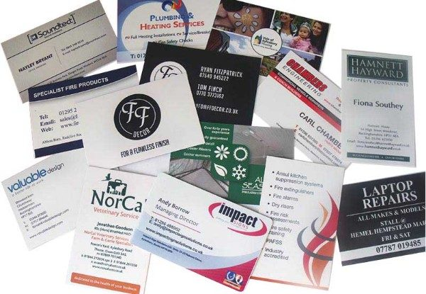 Business Cards - Full colour printed business cards