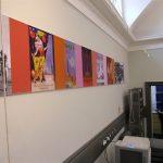 Exhibition Graphics - Aluminium tension system