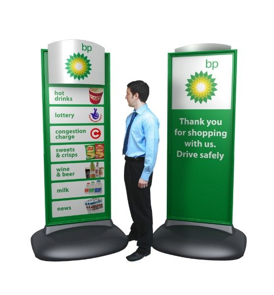 Forecourt Pavement Signs - Custom Sentinel