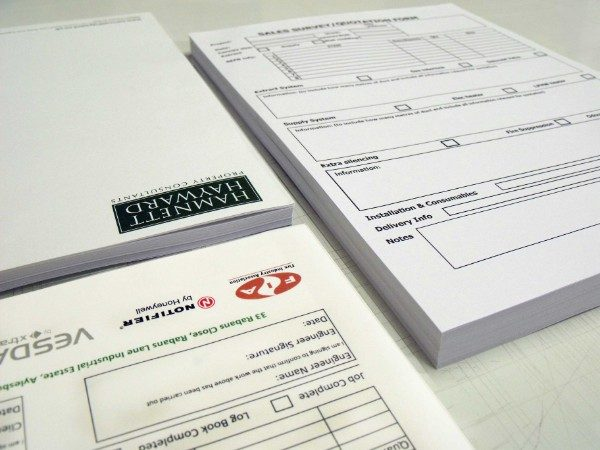 Letterheads and Compliment Slips - Letterheads and Order Forms