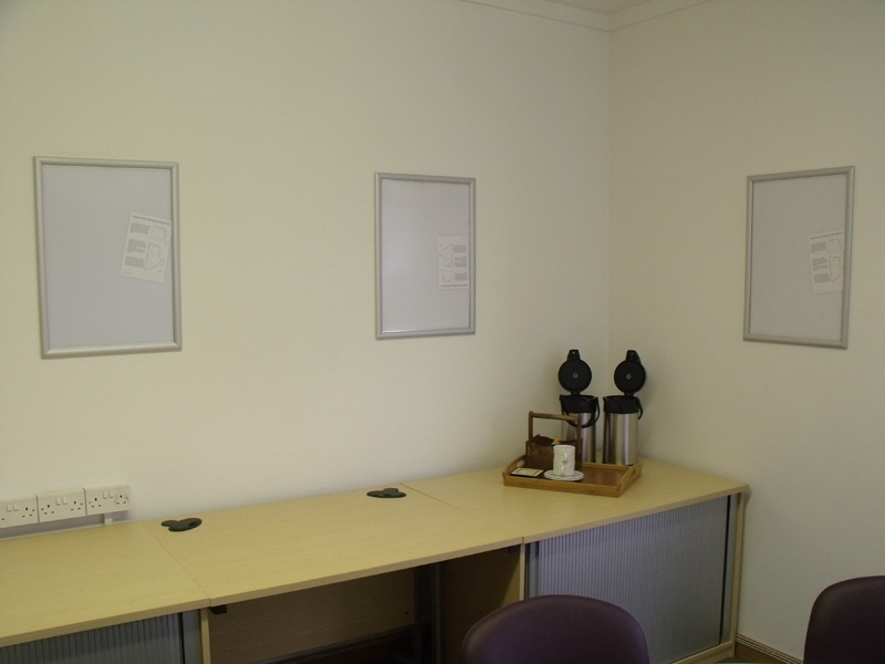 office wall frames. Snap-frames-on-office-wall Office Wall Frames