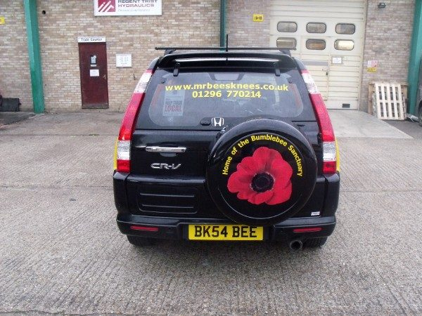 Spare Wheel Covers - Full colour print