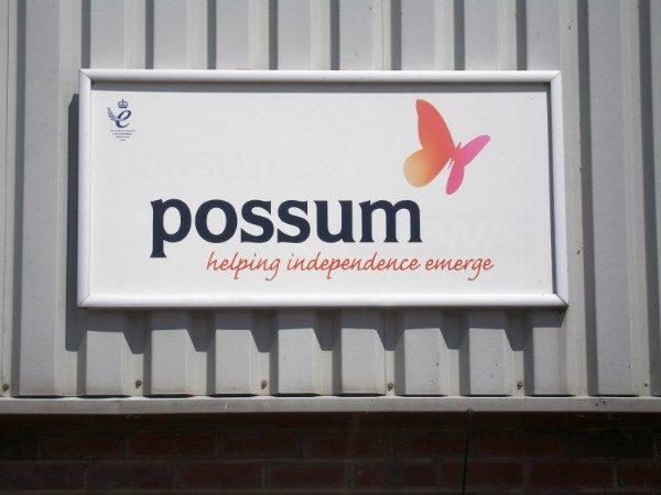 Perspex Fascia Signs - Perspex panel in Aluminium frame