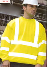 HV73 RTY High Visibility Sweatshirt